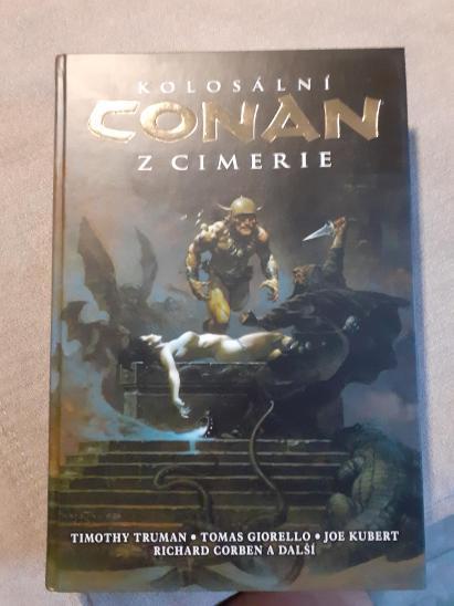Kolosální Conan z Cimérie-2.svazek - Komiksy