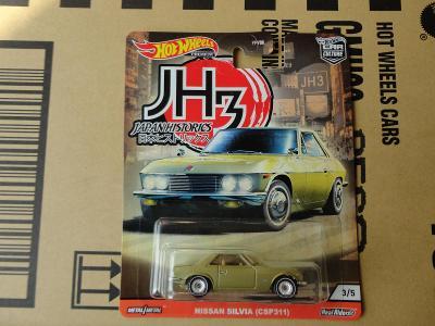Hot Wheels Nissan Silvia (CSP311).Rozbalený.Krabička je otevřena.