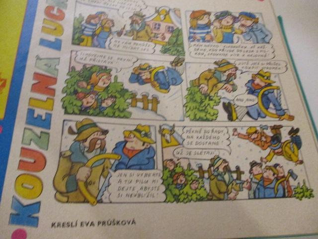 """Časopis Ohníček""""- rok 1975/76 - dětský časopis, sběratelství, retro - Časopisy"""