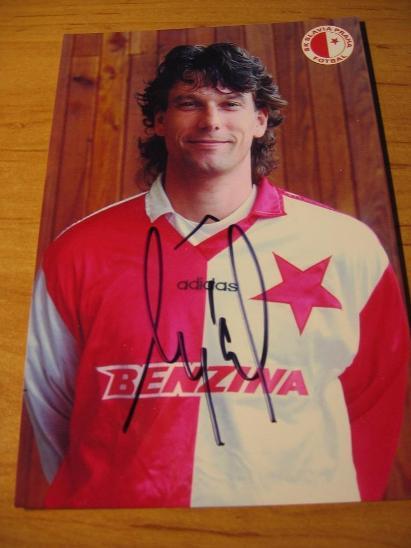 Daniel Šmejkal - Slavia Praha - orig. autogram  - Ostatní