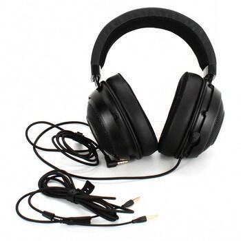 Herní sluchátka Razer Kraken černá  - TV, audio, video