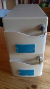 Boxy na diskety VERBATIM 3,5'' 1,44MB, spojená sada dvou kusů