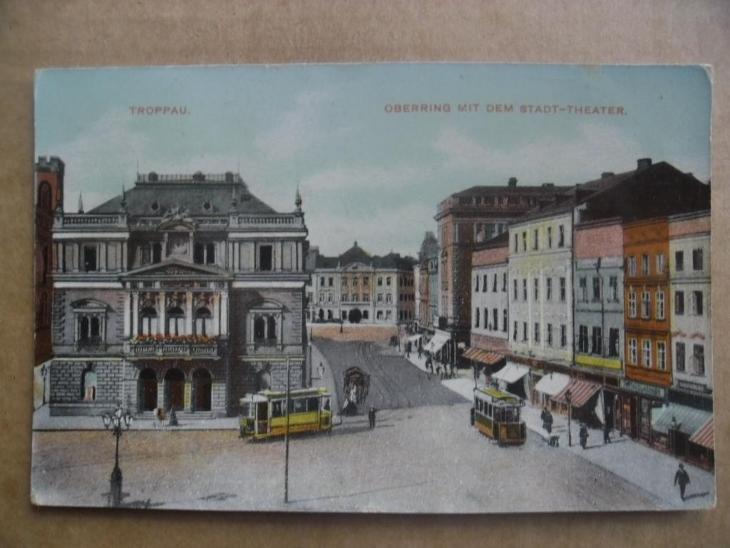 Opava Troppau tramvaj - Pohlednice