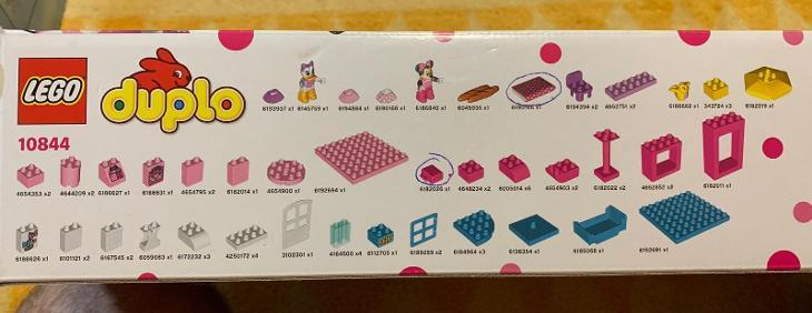 Lego Duplo 10844 Disney Junior Butik Minnie Mouse - Hračky