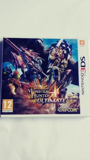 MONSTER HUNTER 4 ULTIMATE -NINTENDO 3DS - Hry