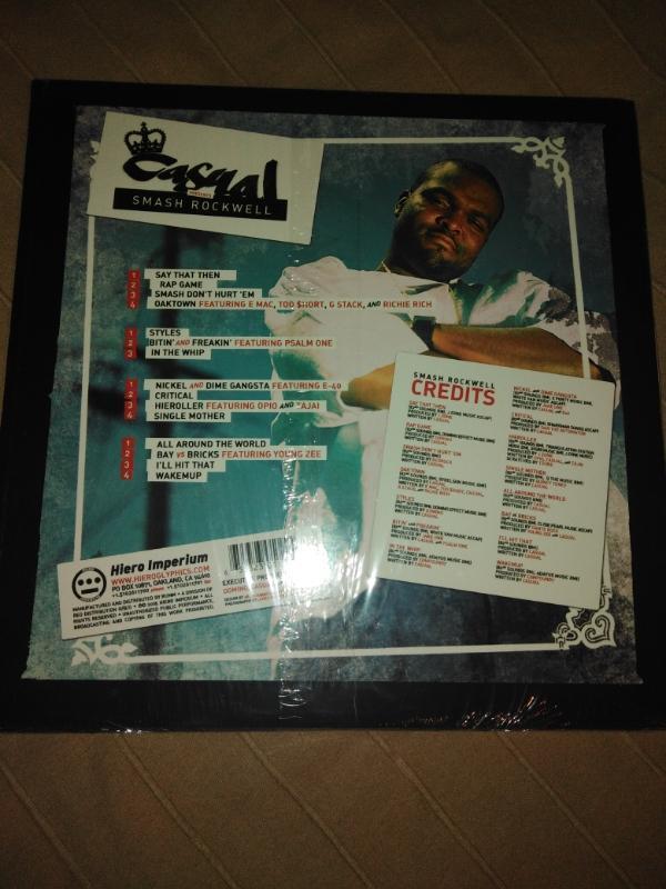 2LP CASUAL - PRESENTS SMASH ROCKWELL - 2005 - HIEROGLYPHICS, USA  - Hudba