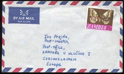 Obálka Zambie do Československa