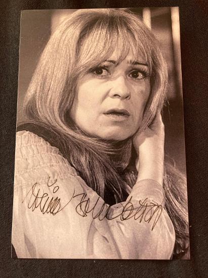 Jiřina Bohdalová autogram - Ostatní