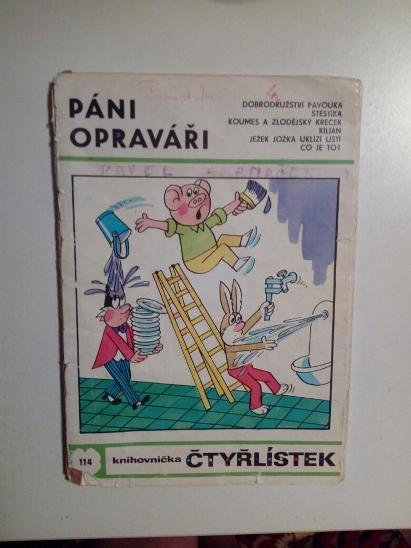 Čtyřlístek, Páni opraváři, č. 114 - Komiksy