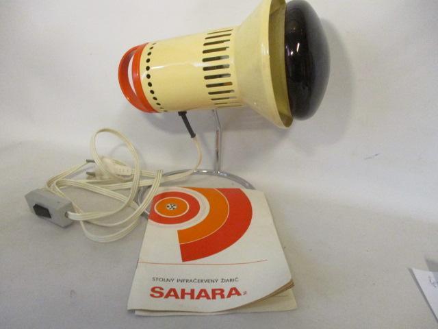 Stolní infrazářič SAHARA 2, horské slunce, infralampa, péče o zdraví - Péče o tělo