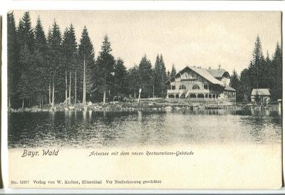Jezero Javor, Bavorsko, Železná Ruda, Šumava