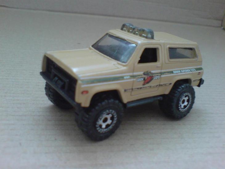 MB-Chevy Blazer 4x4 - Modelářství