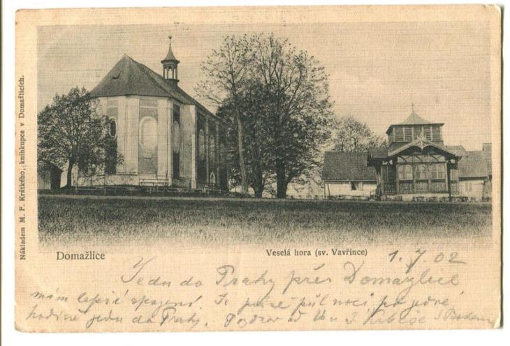 Domažlice, sv. Vavřinec - Pohlednice