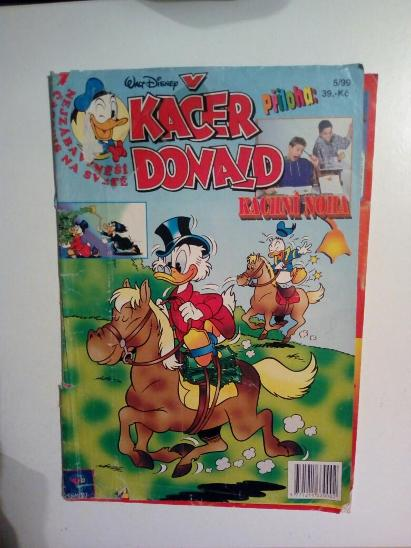 Časopis, Kačer Donald, č. 5/1999 - Komiksy