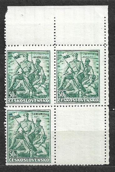 J640 C Zborov 50hal KL - Filatelie