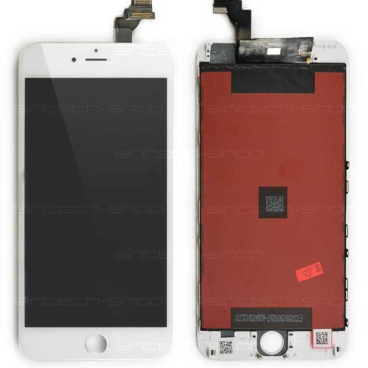 "iPhone 6 Plus LCD + dotyk (5,5""), bílý - Náhradní díly"