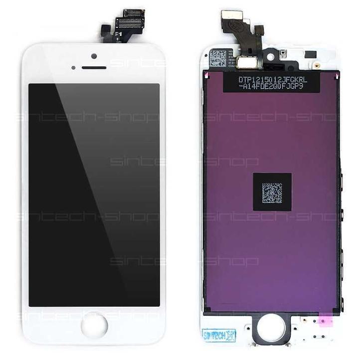iPhone 5 LCD displej + dotyk bílý - Náhradní díly