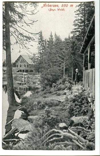 Jezero Javor, Bavorsko, Železná Ruda, Šumava - Pohlednice