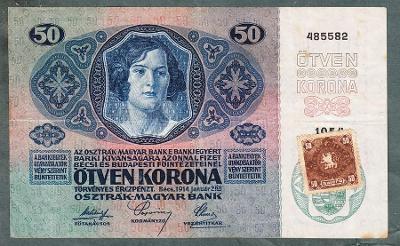 50 korun 1914 KOLEK serie 1054