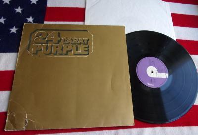 💥 LP: DEEP PURPLE - 24 CARAT PURPLE, West Germany 1975