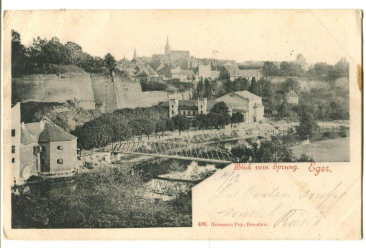 Cheb - Pohlednice
