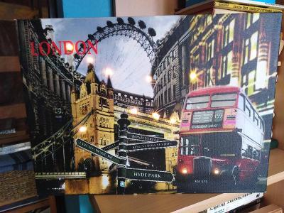 Obraz London svítící