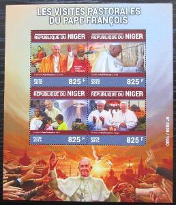 Niger 2015 Papež František Mi# 3962-65 Kat 13€ 2521