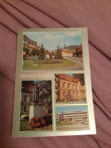 Pohlednice DOLNÍ KUBÍN,neprošlé poštou