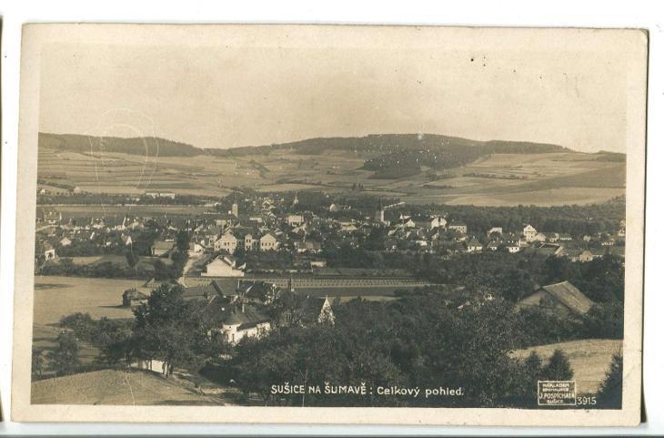 Sušice, Klatovy, Šumava - Pohlednice