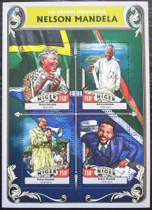 Niger 2016 Nelson Mandela Mi# 4307-10 Kat 12€ 2522