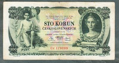 100 korun 1931 serie Cc NEPERFOROVANA