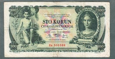100 korun 1931 serie Ea NEPERFOROVANA