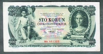 100 korun 1931 serie Ma NEPERFOROVANA