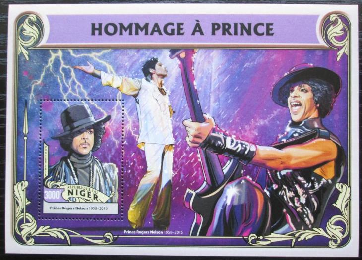 Niger 2016 Prince Mi# Block 569 Kat 12€ 2522 - Filatelie
