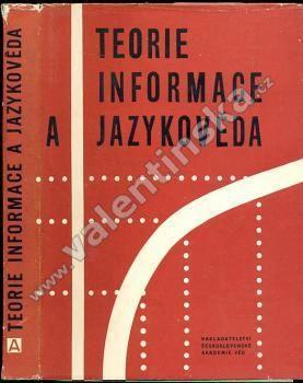 Teorie informace a jazykověda - Knihy