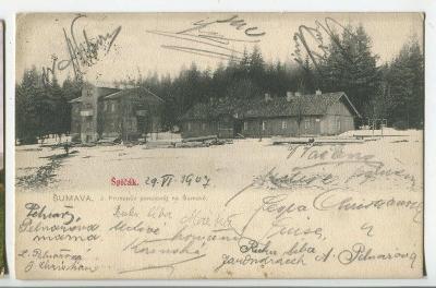 Železná Ruda - Špičák, Klatovy, Šumava