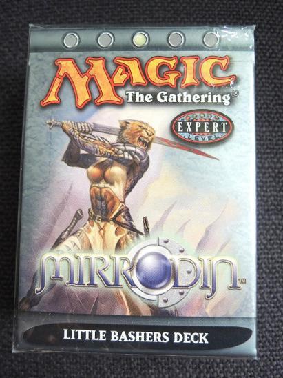 Theme Deck: Little Bashers, Mirrodin - Magic: The Gathering - MTG - Karetní hry
