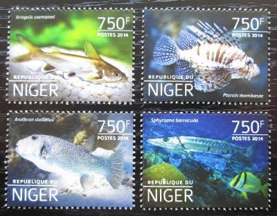 Niger 2014 Ryby Mi# 3179-82 Kat 12€ 2527