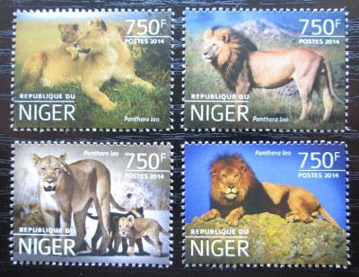 Niger 2014 Lvi Mi# 3199-3202 Kat 12€ 2527
