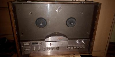 Philips 4407 , kotoučový magnetofon