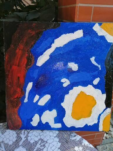Obraz Abstrakce Patapuf 50x50 - Umění