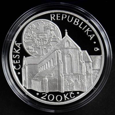 ZLATÁ KORUNA 2013 // PROOF // 200 Kč pamětní stříbrná mince ČR