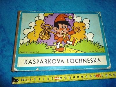 autor  NĚMEČEK  .. Čtyřlístek  .. KAŠPÁREK  Kašpárkova  lochneska
