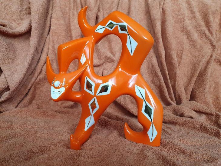 Porcelánová soška, klaun, Royal Dux Bohemia - Porcelán