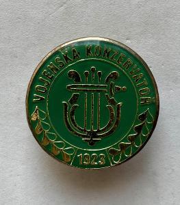VOJENSKÝ ODZNAK-VOJENSKÁ KONZERVATOŘ-1923