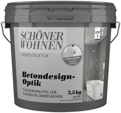 Výplňový materiál Schöner Wohnen - vzhled betonu 7,5 L (46940438) D225
