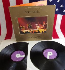 💥 2LP: DEEP PURPLE - MADE IN JAPAN, West Germany pressing 1972