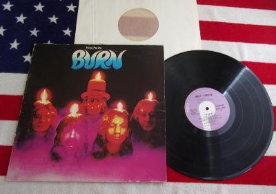 💥 LP: DEEP PURPLE - BURN,  Italy pressing 1974