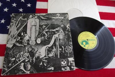 💥 LP: DEEP PURPLE - DEEP PURPLE, EX+, West Germany 1969 ℗1976 April