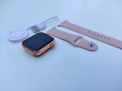 Nové růžové Smart watch, ve stylu apple watch, chytré hodinky